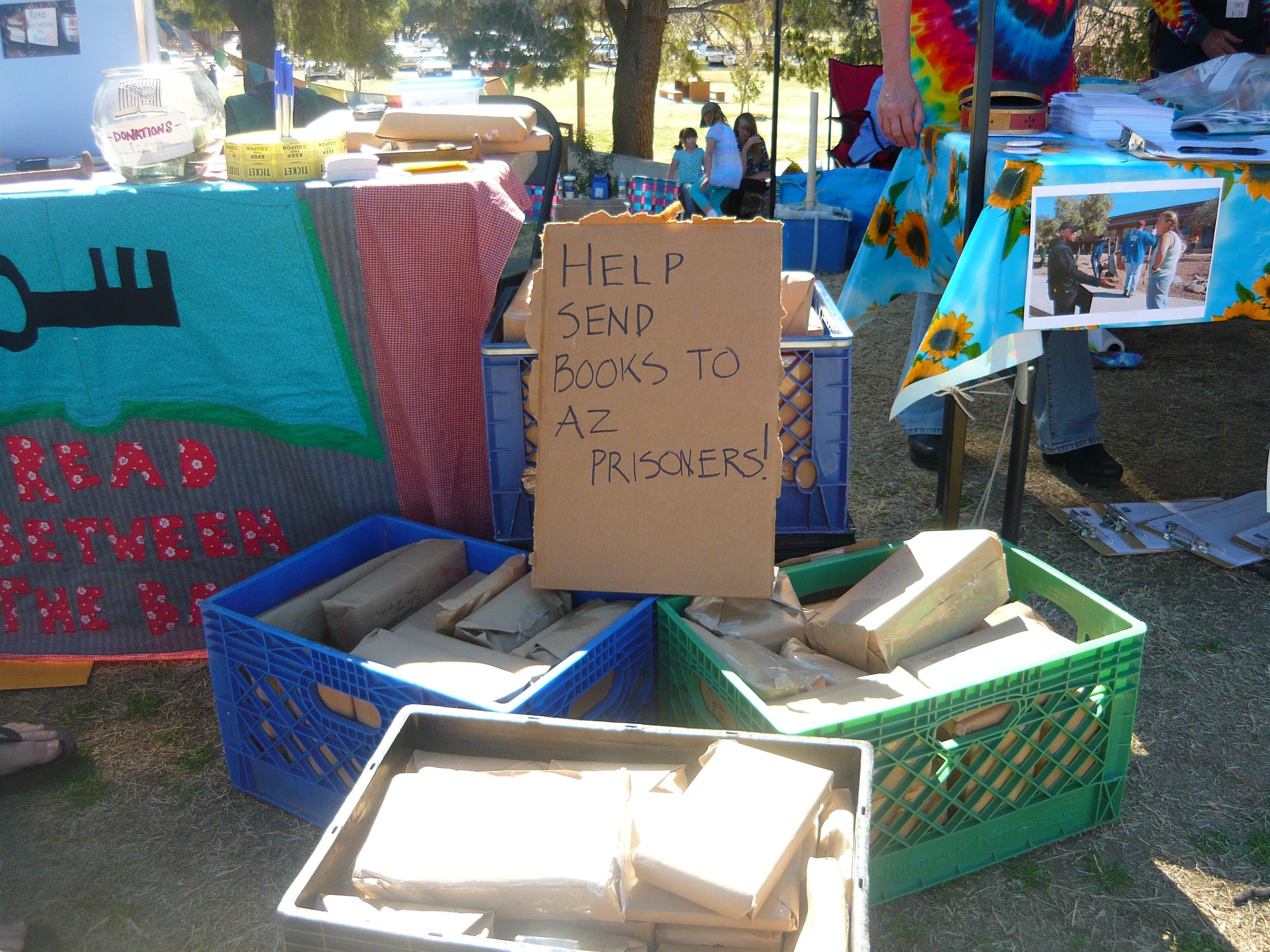 RBtB Booth at the 30th Annual Tucson Peace Fair