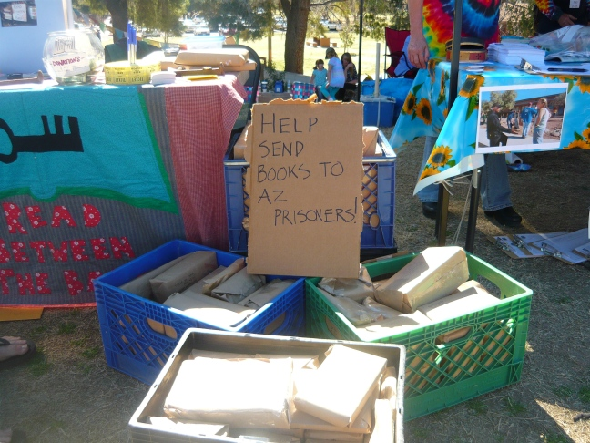 RBtB Booth at the 30th Annual Tucson Peace Fair
